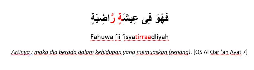 Surat Al Qariah 7