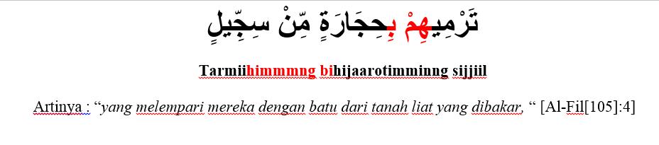 Pengertian Contoh Dan Hukum Ikhfa Syafawi Ilmu Tajwid Id