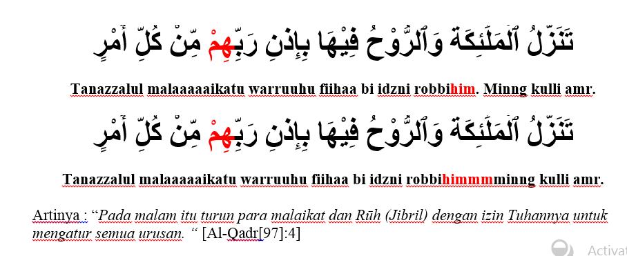 surat al qodr ayat 4