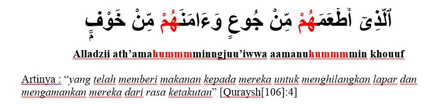 surat al qurays ayat 4